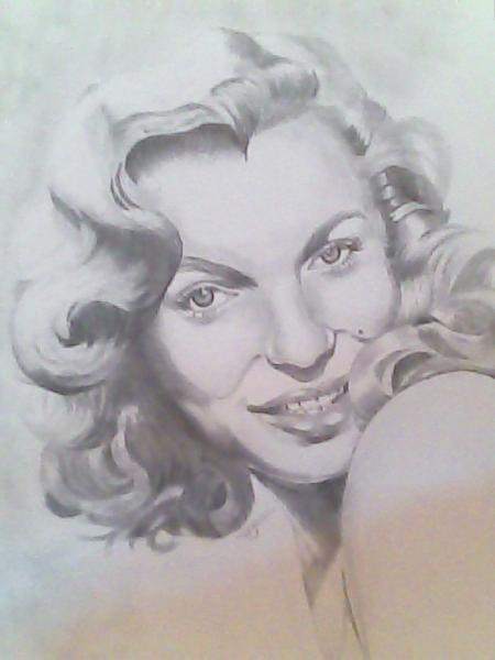 Marilyn Monroe by tom.J.